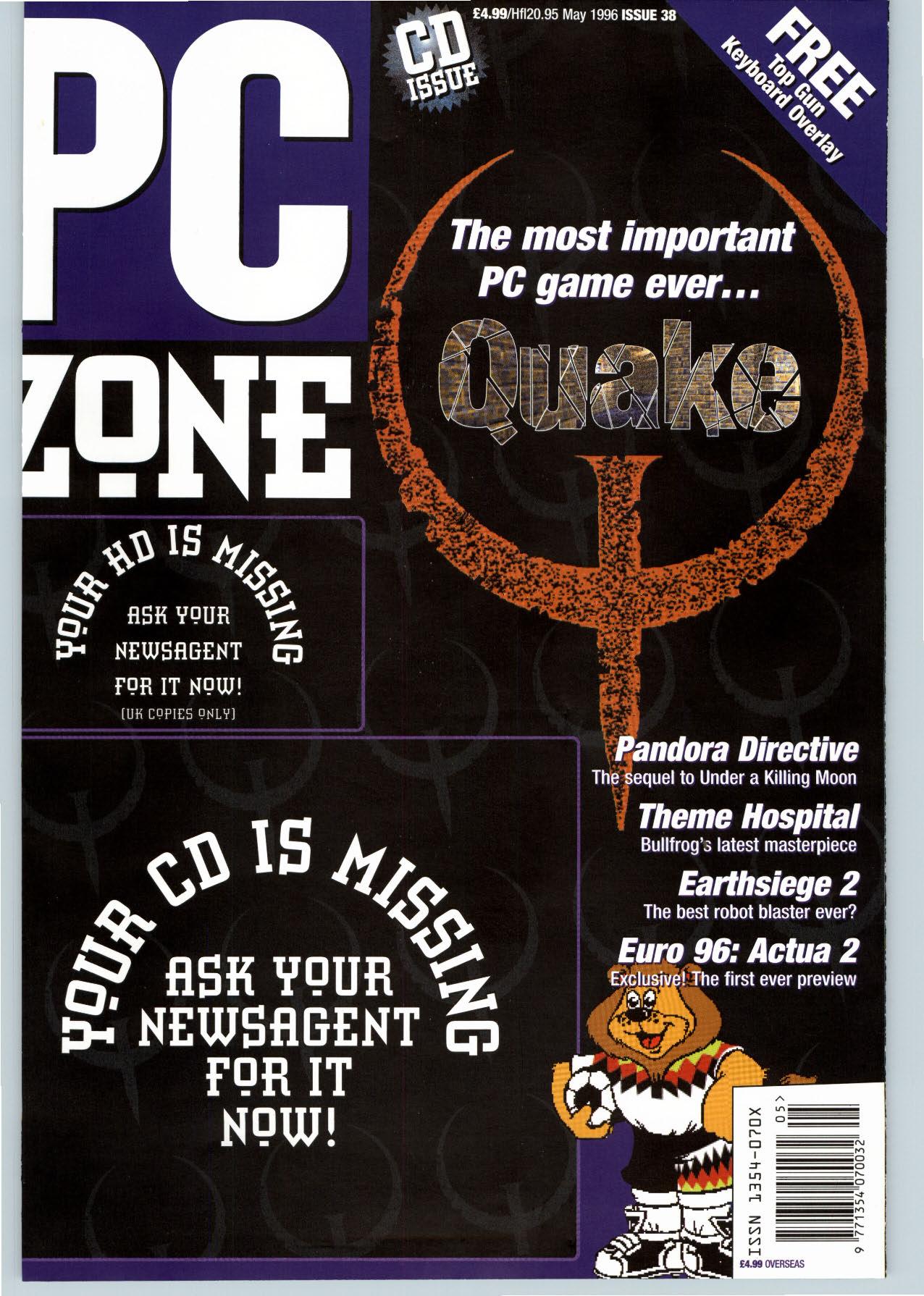 pc zone 38  may 1996  uk