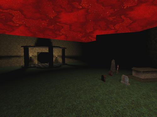 Screenshot of horrors