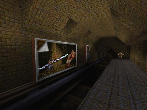 Screenshot of metro