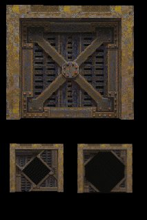 Quake II Iris Door & Prefab Warehouse